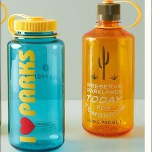 2 NWT Anthropologie parks projects Nalgene bottle